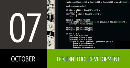 Course Houdini Tool Development