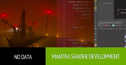 Mantra Shader Development